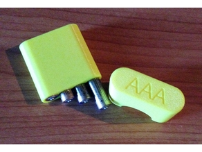 AAA Battery Box for four AAA Batteries