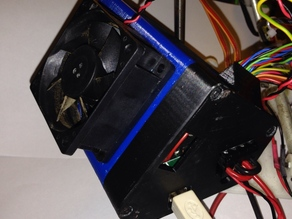 Arduino+Ramps1.4 Case with Clips for Mendelmax and T-Max