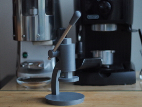 Mechanical Coffee Tamper