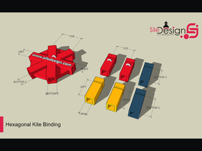 Hexagonal Kite Bindings