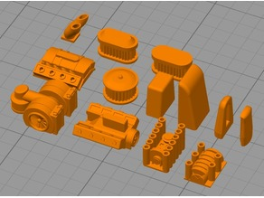Gaslands/Car Wars/Diecast motors, engines and vents