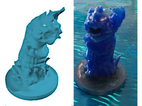 Water Elemental Miniature