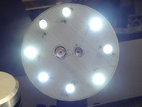 8 led circuit board with graphene material