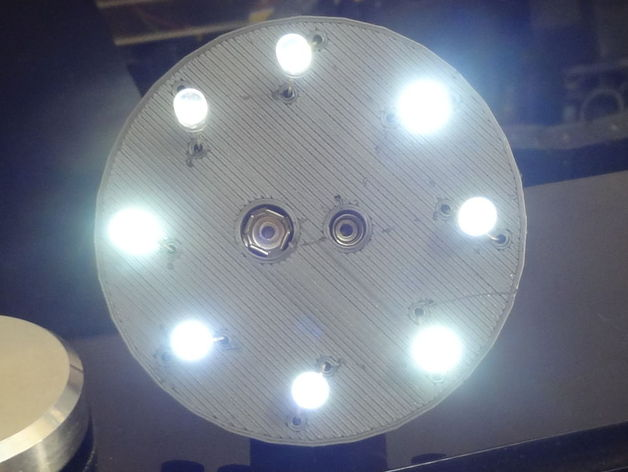 8 led circuit board with graphene material by Immaginaecrea