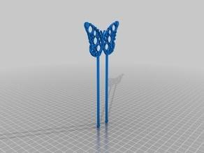 Clockwork Butterfly Hair pin