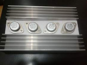 TO-3 cooler drilling stencil