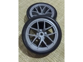RC 1/10 26mm Ford GT Style Wheels