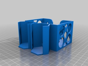 Fancy holder for cards and tiles