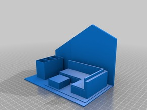 Model of a Point of Sale that my Daughter designed