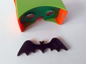 Flying Bat - magnet joystick for Google Cardboard.