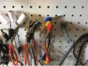 Pegboard 3.5mm Cable Hanger