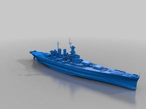 Warship - BB-55 North Carolina (1/10)