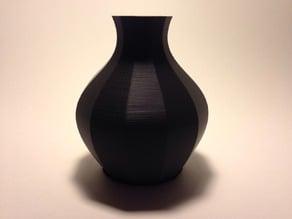 12 Sided Bezier Vase