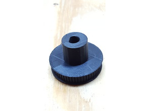 large GT2 pulley to 8mm D shaft