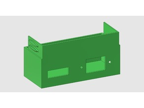Universal  PSU cover for 12V and 24V Switch Mode Power Supply    customizable