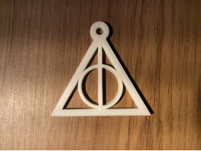 Harry Potter, Deadly Hallows keychain / charm