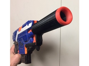 NERF Sliencer barrel
