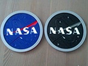 NASA Logo Drink Coaster