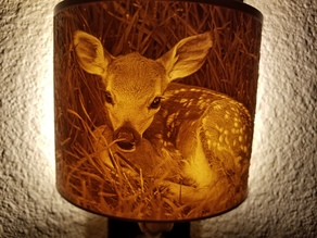 Baby Deer Night Light Lithophane