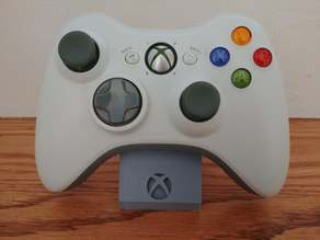 Xbox 360 Controller Stand with Logo