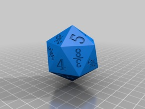 Fraction dice with arithmetic operator dice