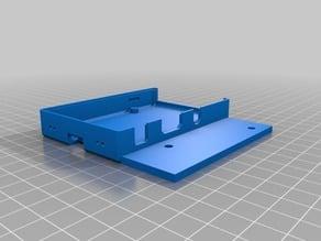 Pi Snug Case Bottom for Lulzbot Mini
