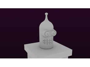 (Futurama) Bender Coin Bank w/ Lid