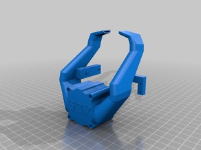 Tronxy x5s Fang for stock extruder with endstop support