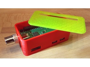 Case for Pi Zero + Raspberry Pi TV HAT