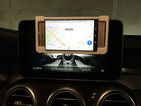 Smartphone Holder for MB Dash Screen