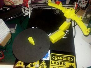 Sardauscan 3d printed scanner. Some stuff