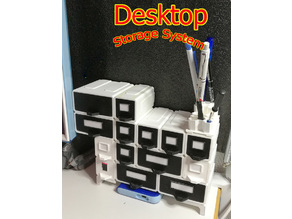 Desktop organizer - Modular Storage System