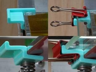 250x150x4 mm Chopping Glass holder for Replicator