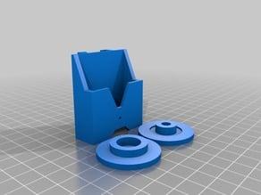 Grappling Reel Attachment Mod for Nerf Firestrike Pistol