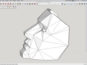 Low Poly Mask Thinned