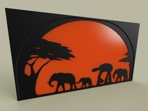 StarWars - ATAT - Elephant