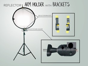 Reflector ARM HOLDER with BRACKETS