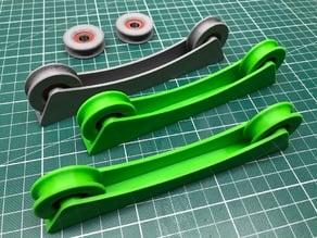 3D Filament Spool Stand w/ Roller Bearings