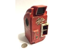Fallout 4 Nuka Cola Machine (1:18 Scale) with Nuka Cola Bottle