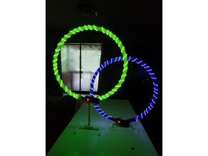 Inexpensive Tiny Whoop Gate Base (Adjustable Height, Lighted and Non)