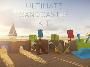 Ultimate Sandcastle Kit