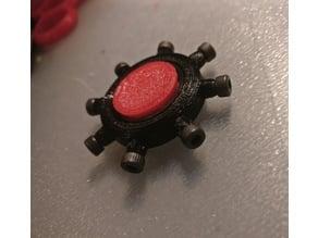 Single Bearing Fidget Spinner