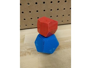 Pyritohedra/Dodecahedra Magnetic Tile