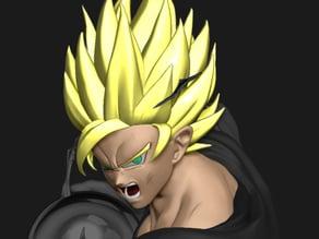 Goku Head SSJ2