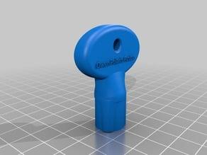 Polaris Fusion Consol Door key