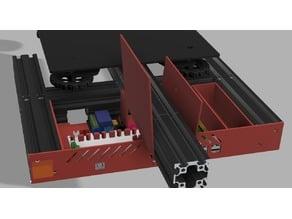 Ender 3 Pro Brain Case - MKS Gen L + Raspberry Pi 3 B
