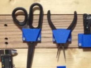 Wire Cutter Holder for Tool Board