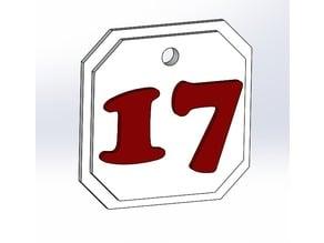 2017 Graduation Tassel Accessory