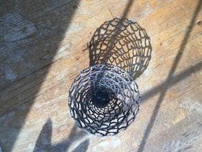 Scalloped Basket