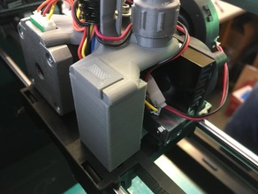 FlashForge Pro Extruder Replacement